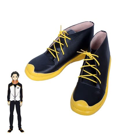 Re:ZERO Starting Life in Another World Subaru Natsuki Cosplay Shoes Boots Custom Made