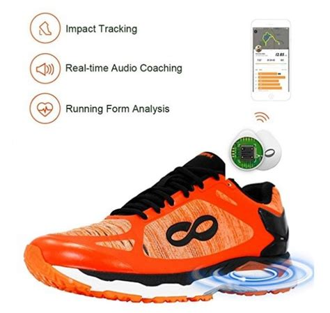 Reach 2.0 Men's Smart Running Shoes Equipped with Data Tracking Chip
