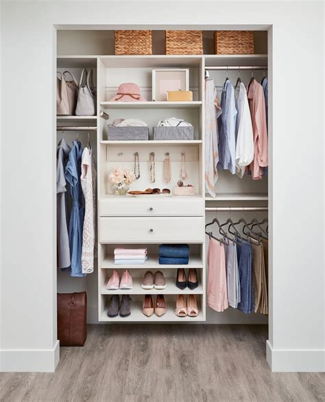 Reach In Closet Design 152 Inches