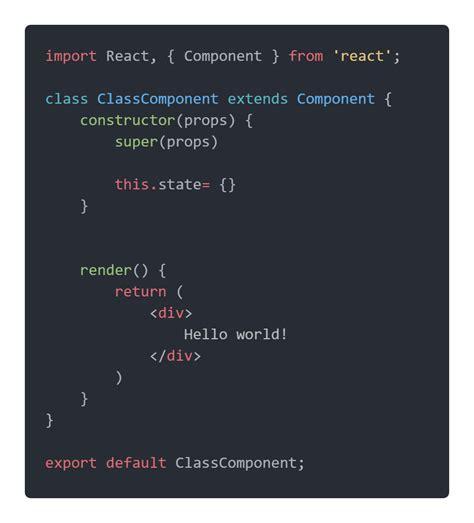 React Class