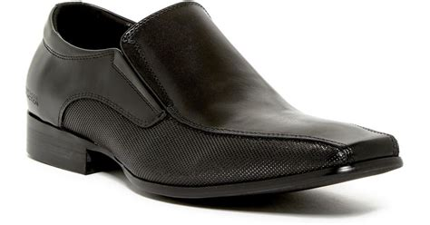 Reaction Kenneth Cole Bro-Cabulary Leather Loafer - Men's
