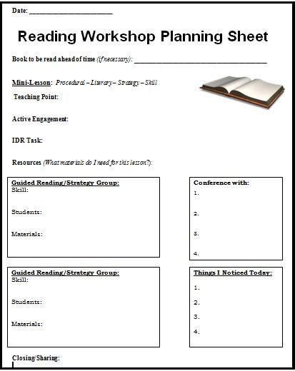 Readers-Workshop-Lesson-Plans