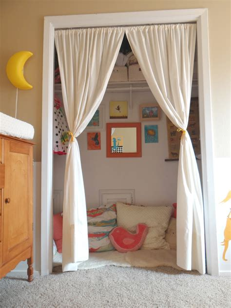 Reading Nook For Kids From Curtains Diy