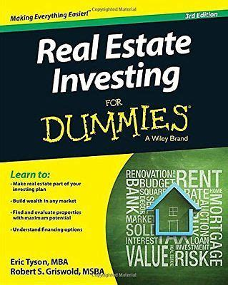 [pdf] Real Estate Investing For Dummies - Propmgmtforms Com.