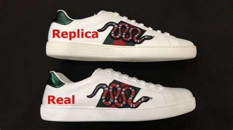 Real Vs Fake Gucci Sneakers