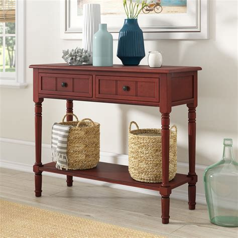 Real Wood Console Table Plans