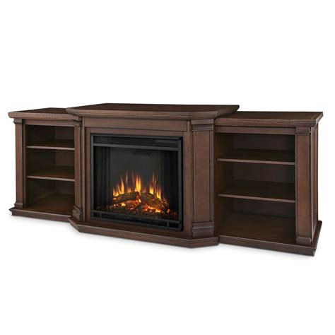 Real Wood Electric Fireplace Tv Stand