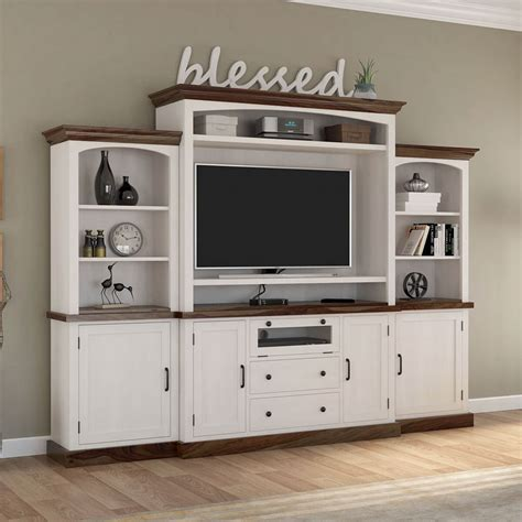 Real Wood Entertainment Centers