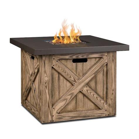 Real-Flame-Farmhouse-Fire-Table