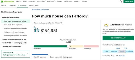 Realistic Home Affordability Calculator