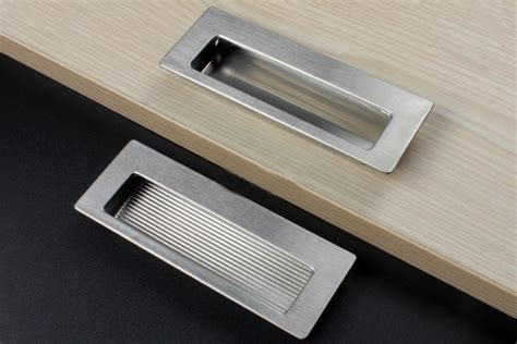 Recessed Handles Kitchen Cabinets