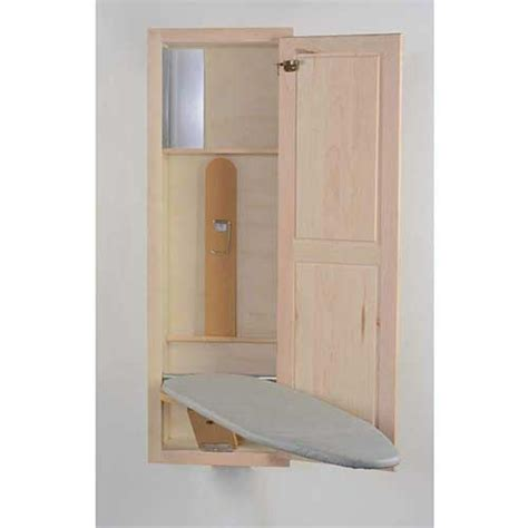 Recessed Ironing Board Cabinet Plans
