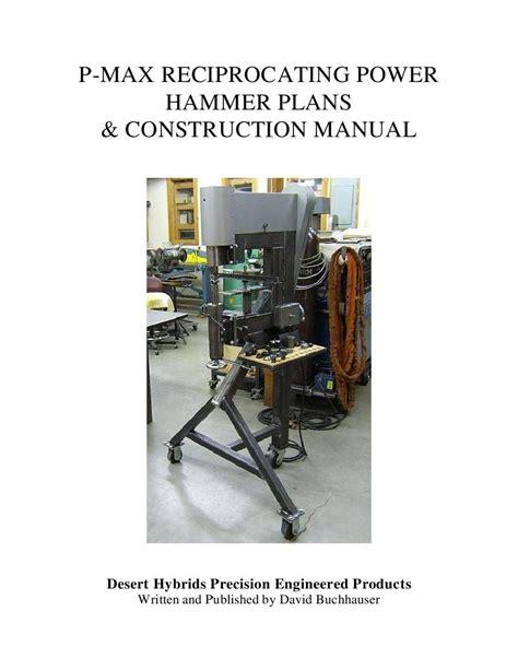 Reciprocating-Power-Hammer-Plans