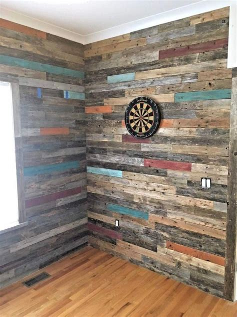 Reclaimed Barn Wood Accent Wall Diy Video