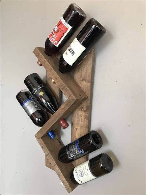 Reclaimed Fence Wood Diy Wine Projects Abroad