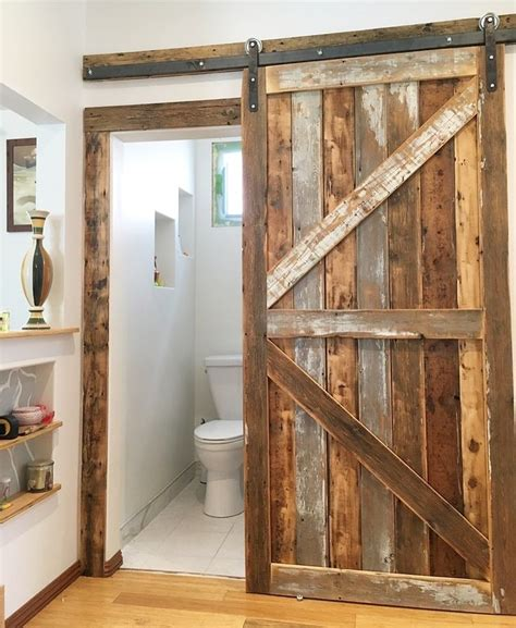 Reclaimed Wood Barn Door DIY