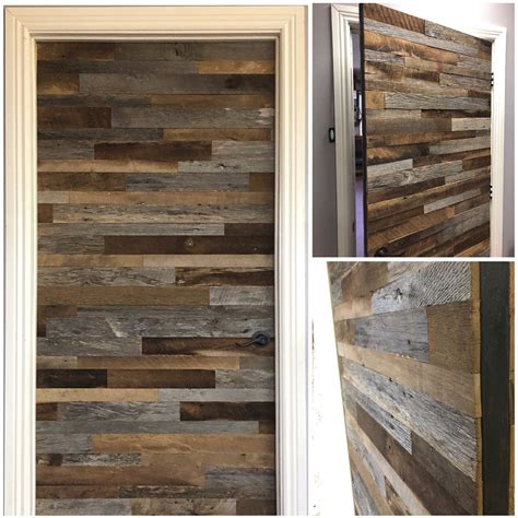 Reclaimed Wood Barn Door Diy Kit