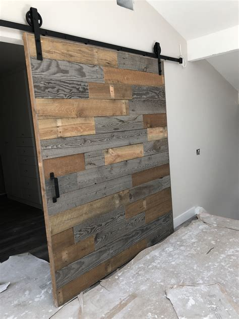 Reclaimed Wood Barn Door Diy Youtube