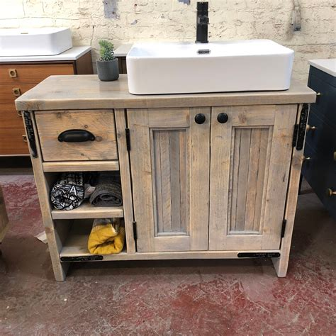 Reclaimed Wood Bathroom Vanity Denver