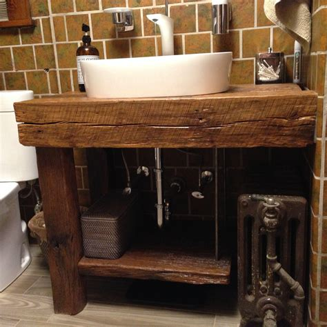 Reclaimed Wood Bathroom Vanity Diy Epoxy