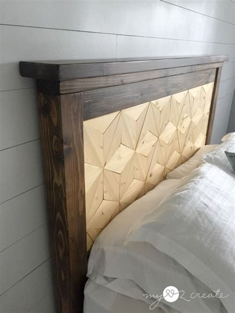 Reclaimed Wood Bed Frame DIY Removable Slats Airplane