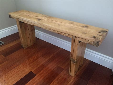Reclaimed Wood Benches Diy