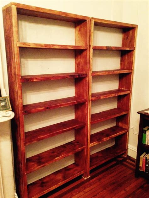 Reclaimed Wood Bookcase Diy 36