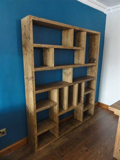 Reclaimed Wood Bookcase Diy Design
