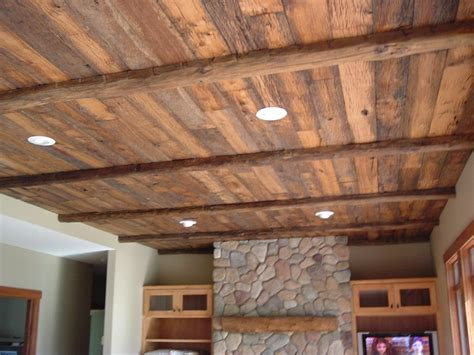 Reclaimed Wood Ceiling Images