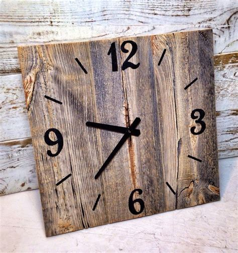 Reclaimed Wood Clock Diy Class
