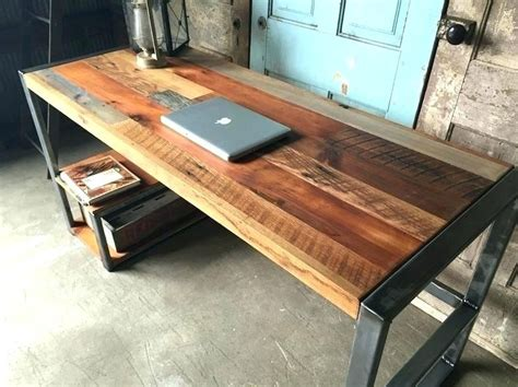 Reclaimed Wood Computer Desk Diy Ideas