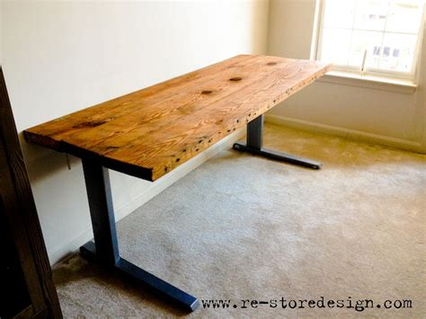 Reclaimed Wood Desk Diy Plans