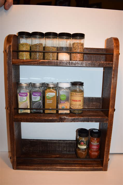 Reclaimed Wood Diy Essential Oil Rack