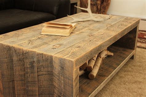 Reclaimed Wood Door Coffee Table Plans