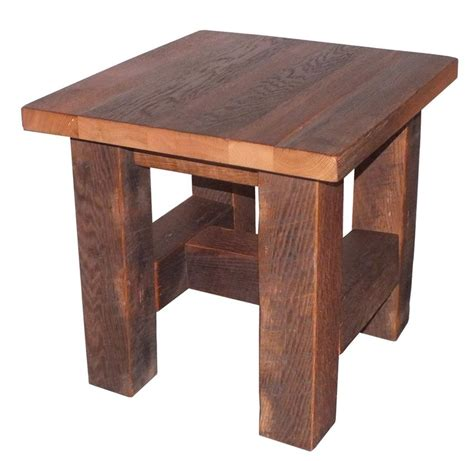 Reclaimed Wood End Tables Dayton Ohio