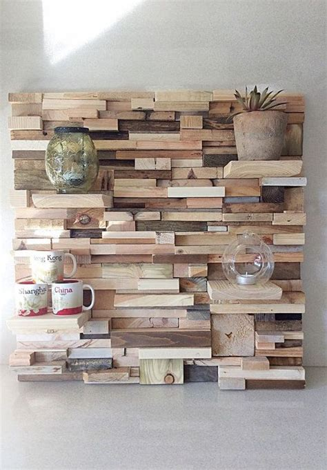 Reclaimed Wood Feature Wall Diy