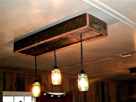 Reclaimed Wood Lighting Diy Jute