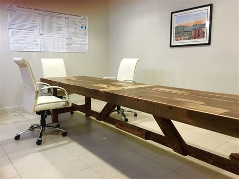 Reclaimed Wood Long Table Plans