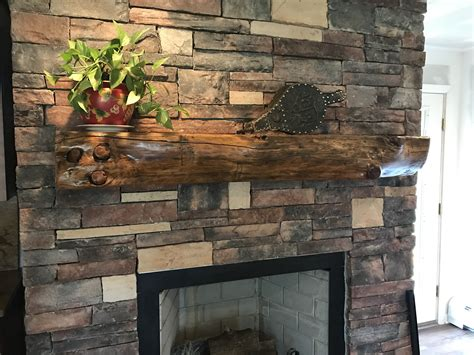 Reclaimed Wood Mantel Dallas Texas
