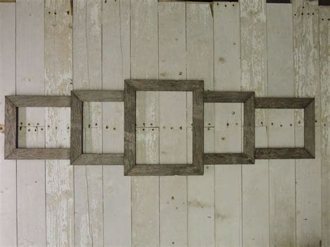 Reclaimed Wood Picture Frame DIY Collage Frame