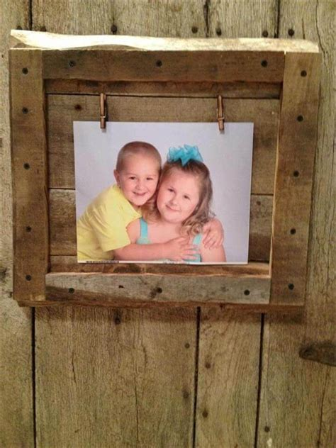 Reclaimed Wood Picture Frames Diy Kids