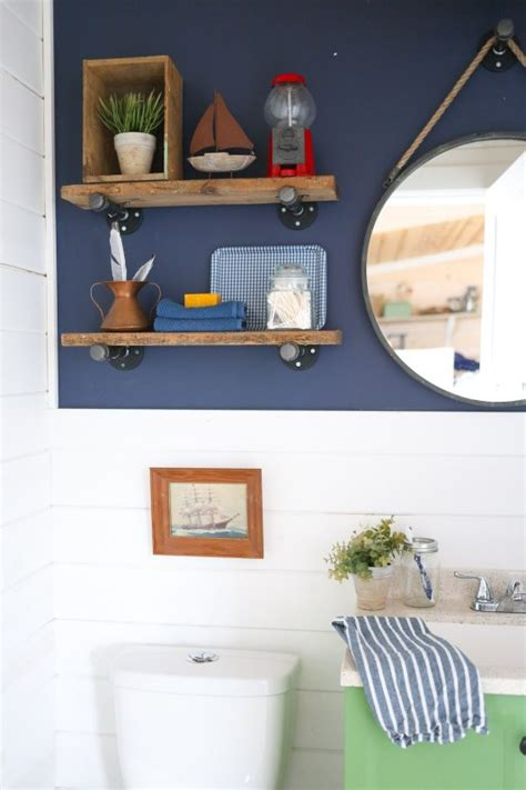 Reclaimed Wood Shelves Diy Pipes