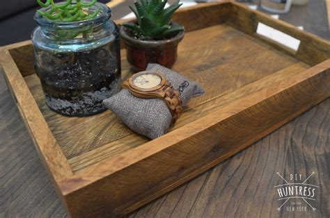 Reclaimed Wood Tray Diy
