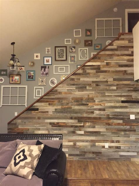 Reclaimed Wood Wall Panels Diy Network