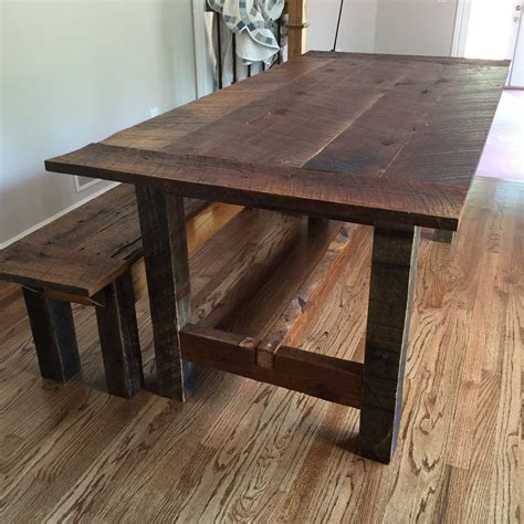 Reclaimed-Barn-Wood-Table-Plans