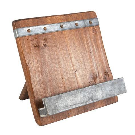 Reclaimed-Wood-Cookbook-Stand-Plans