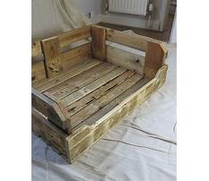Best Reclaimed wood dog bed