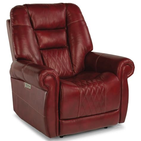 Recliner With Power Headrest And Lumbar Support