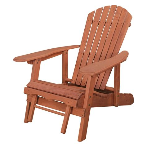 Reclining Adirondack Chair With Pull Out Ottoman Plans Reviews
