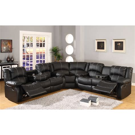 Reclining Curved Sectional By Ultimate Accents